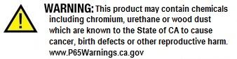 SMO Chromium Urethane WoodDust