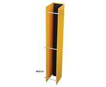 RACK GUARD WITH RUBBER INSERT (NO ANCHORS)
